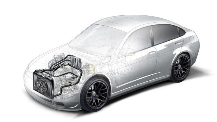 Устройство системы охлаждения двигателя Чери Амулет